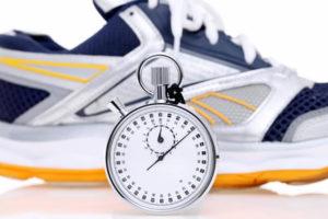 ④脂肪燃焼が始まる20~30分を目安に走る
