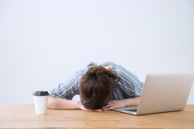 寝不足によって身体への悪影響があります!
