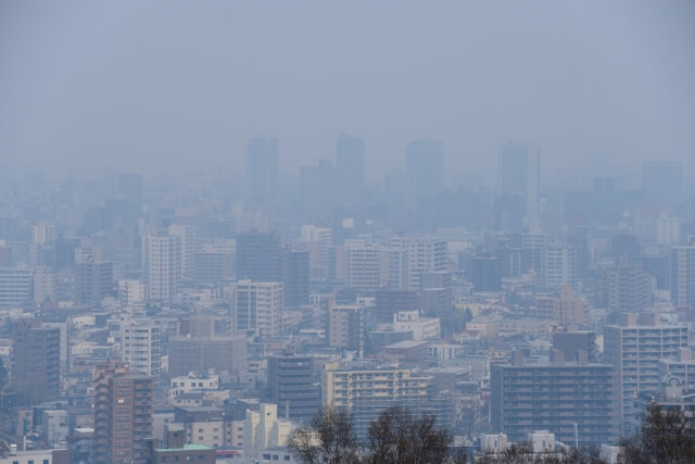 【PM2.5の対策】大気汚染物質広域監視サイトで濃度を確認