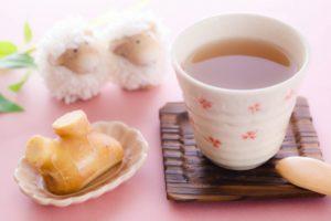 花粉症の対策になる飲み物の生姜湯