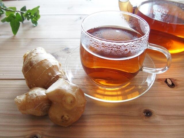 生理中におすすめの飲み物レシピ①生姜紅茶