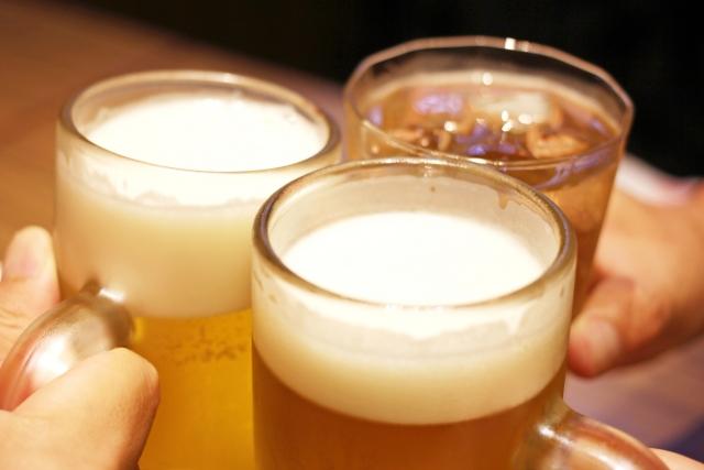 のどが痛い(痛み)のはアルコールが原因のひとつです
