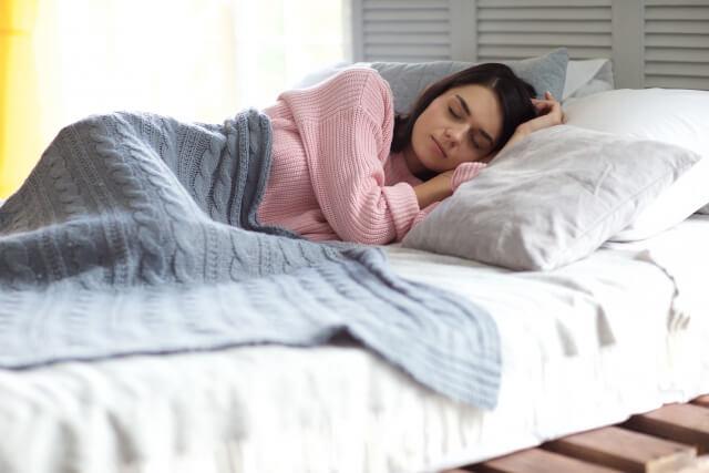 逆流性食道炎の養生法②左向きに寝る