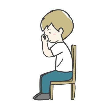 鼻血の止め方1