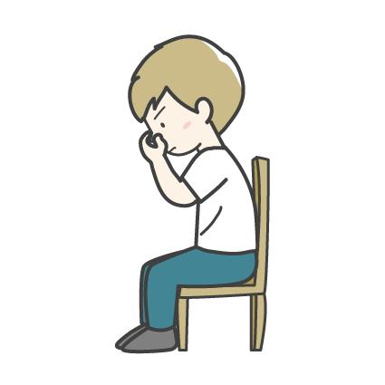 鼻血の止め方2