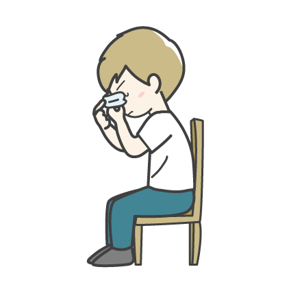 鼻血の止め方3