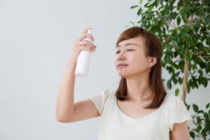 持ち運び化粧水で乾燥肌を対策