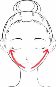 顔のむくみをマッサージやストレッチで解消する方法
