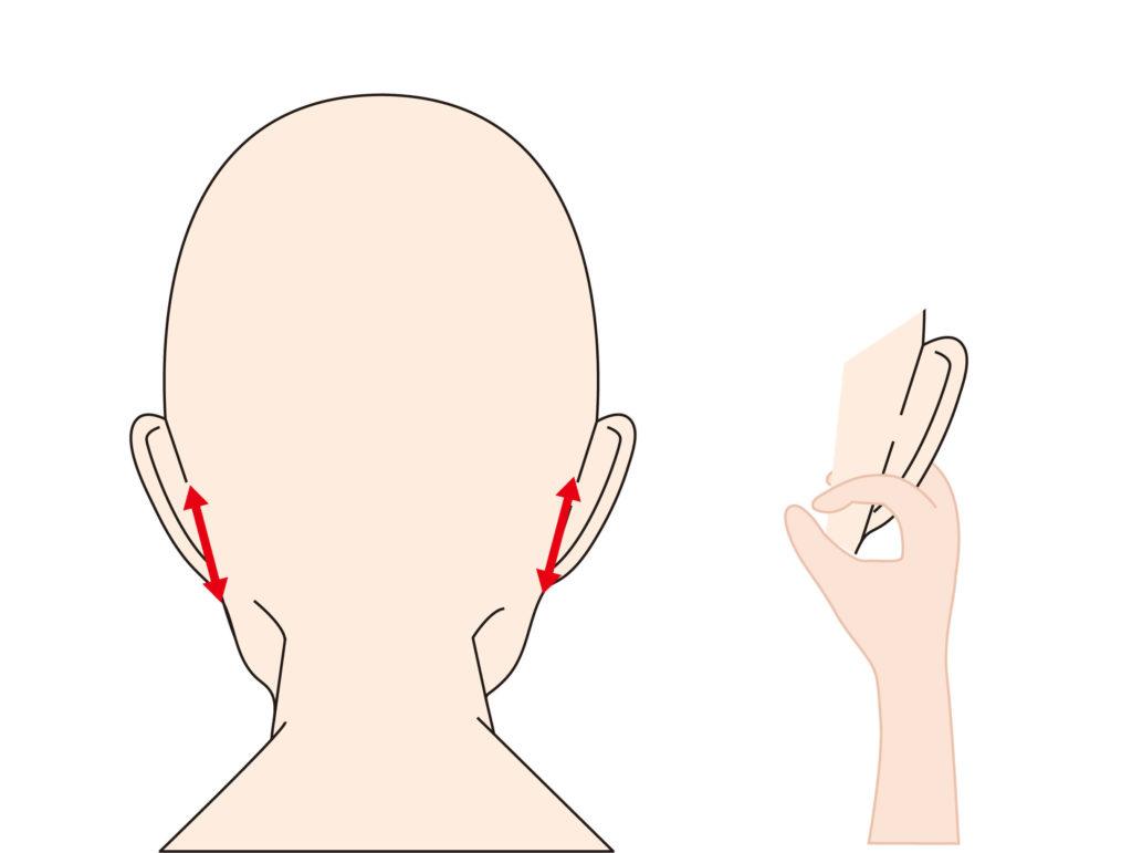 【ほうれい線を消す】耳横のリンパマッサージ