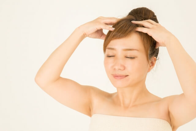 頭皮トラブルのセルフ対処法