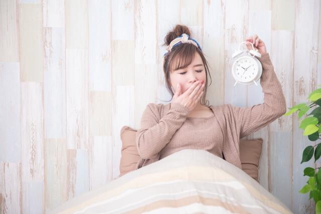 睡眠不足が引き起こす不調とは?睡眠不足の原因は睡眠の質にも関係してる!