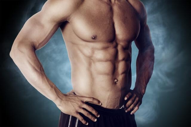 腹筋ローラーで鍛えられる筋肉は?